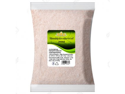 Himalájska ružová soľ jemná