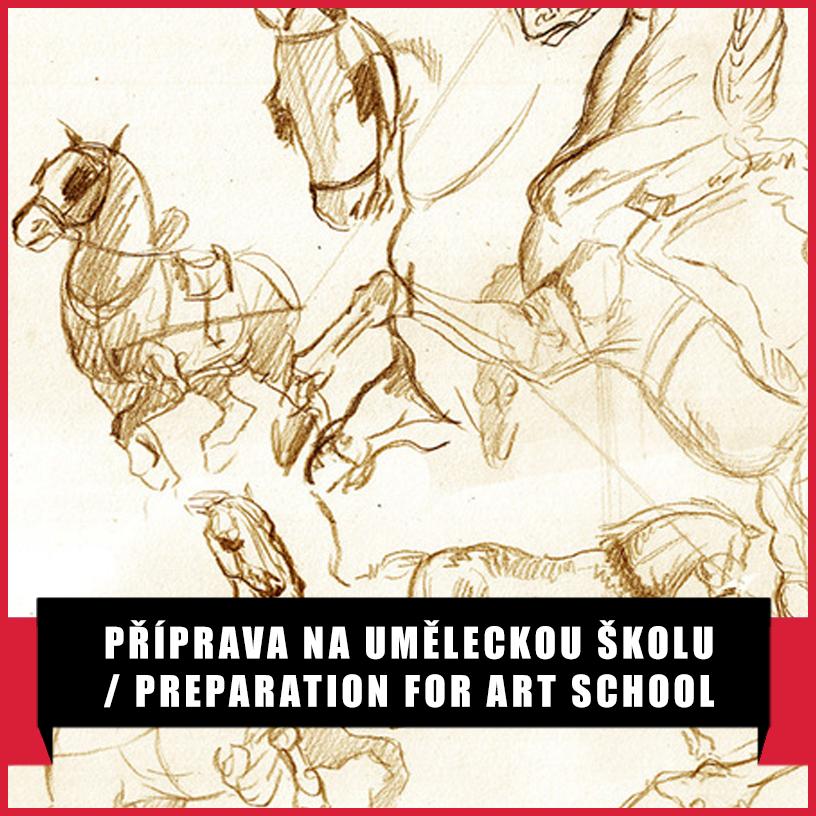 Příprava na uměleckou školu