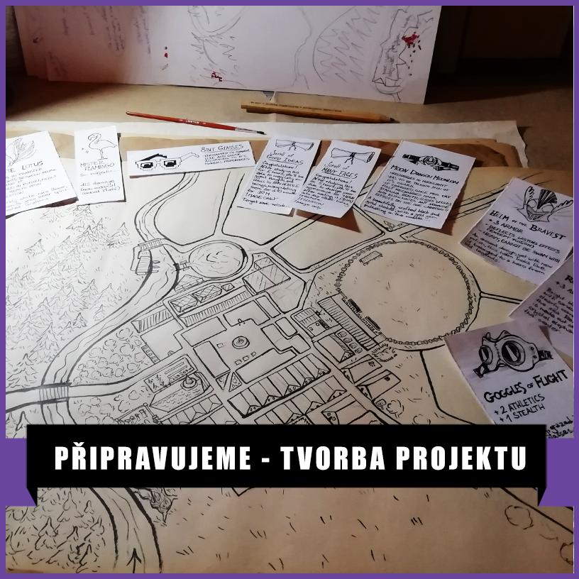 Tvorba projektu