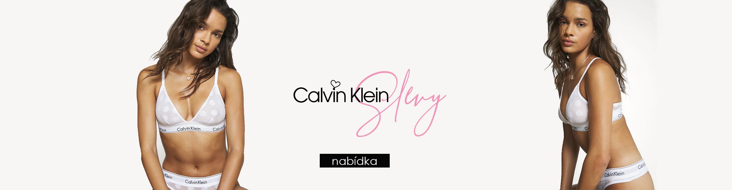Letní slevy Calvin Klein spodní prádlo