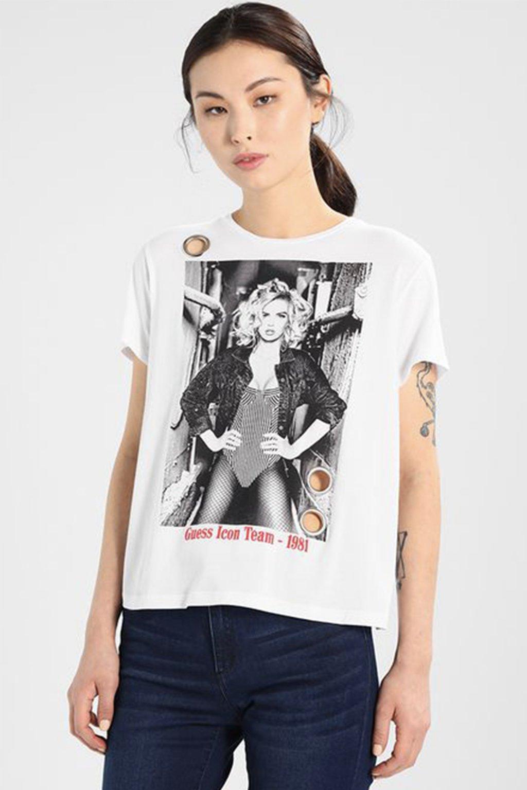 Dámské tričko Guess Team Icon