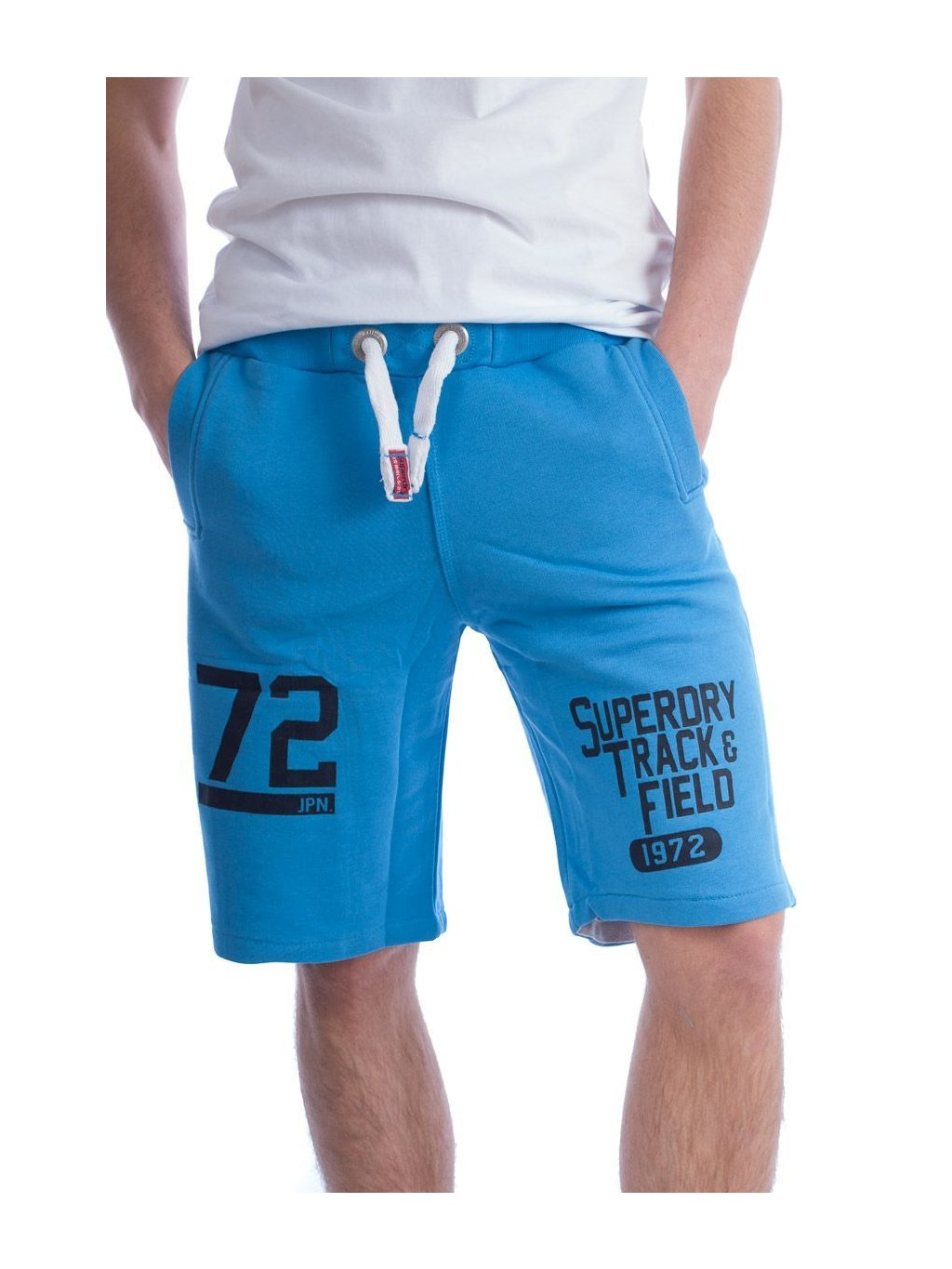 superdry shorts blue