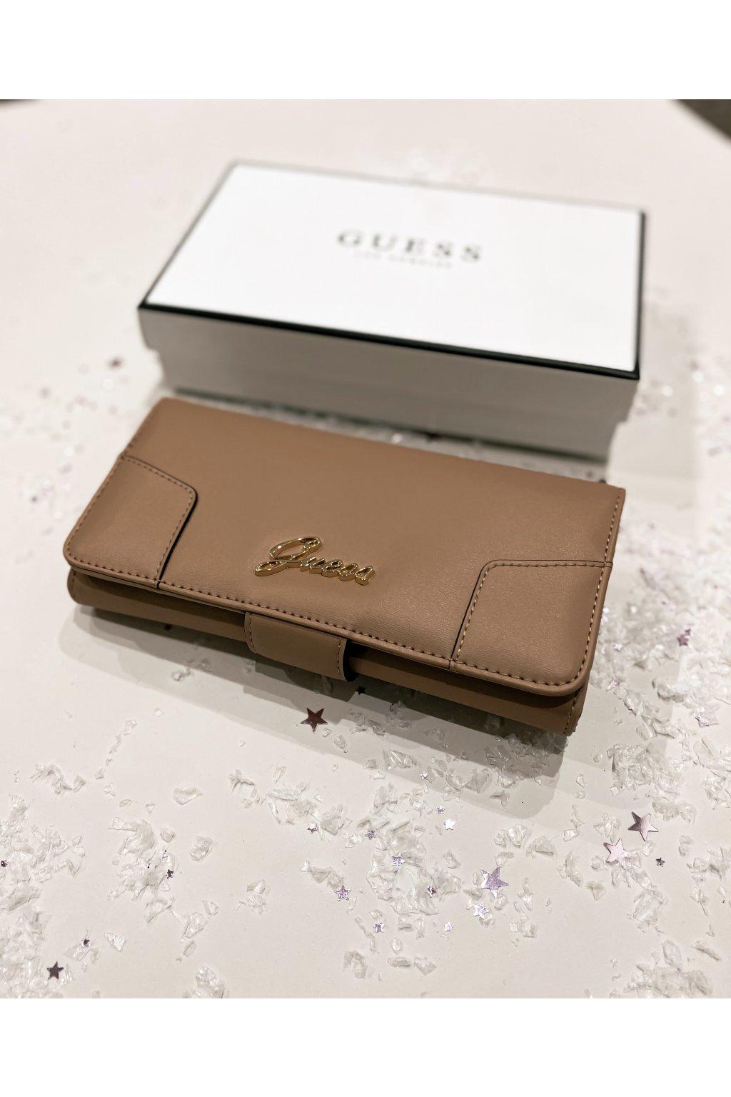 Peněženka Guess Neatan file clutch