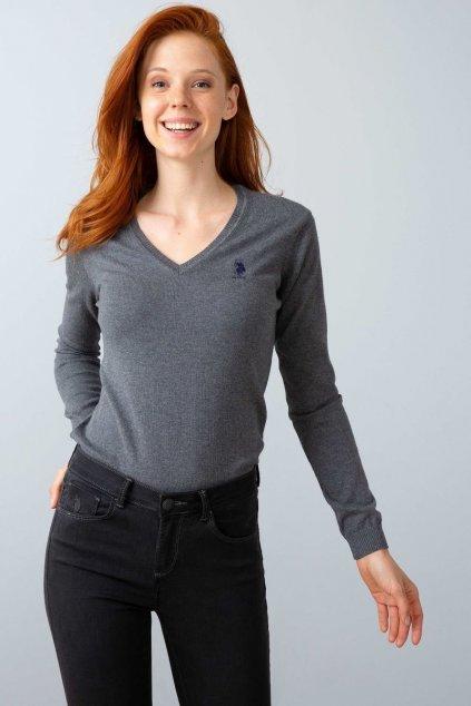 Dámský svetr U.S Polo ASSN. Grey
