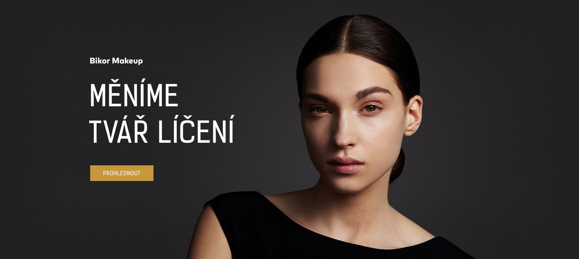 Bikor Makeup – Měníme tvář líčení