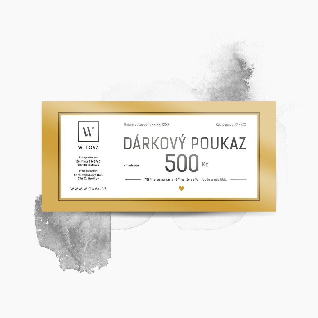 witova darkovy poukaz produkt