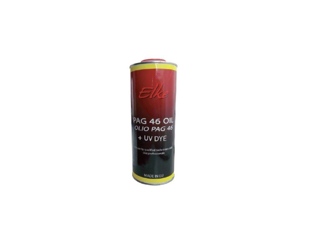 PAG olej 100 s UV barvivem, vysoká viskozita, 1 000 ml  PAG olej s UV barvivem