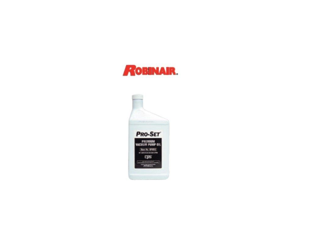 Olej do vakuové pumpy Robinair, 600 ml