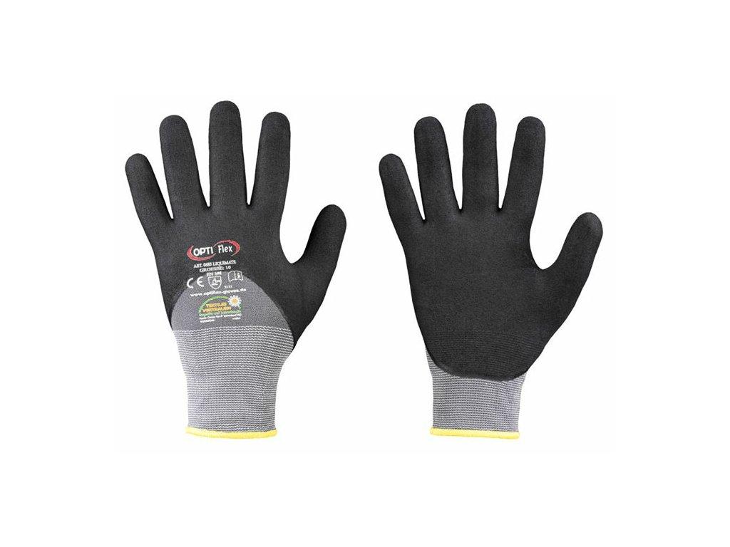 Mikrojemné pogumované rukavice Liquimate