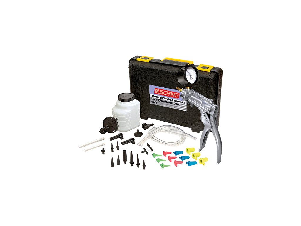 Ruční tlaková a vakuová pumpa Silverline Automotive–KIT