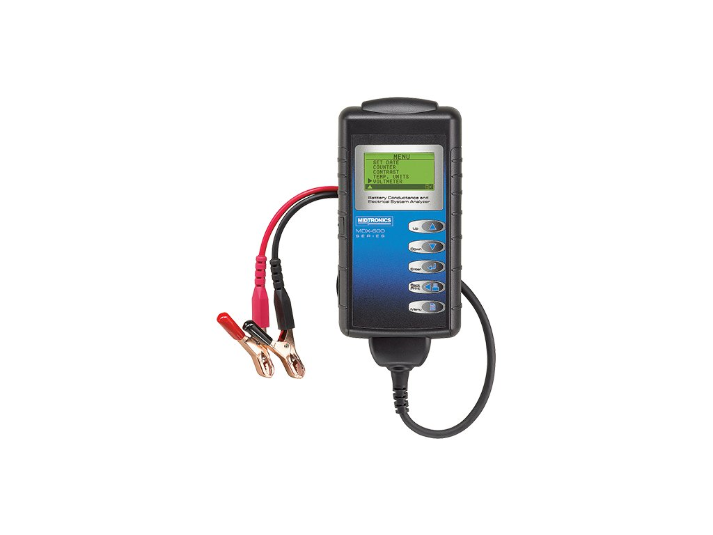 Tester vodivosti akumulátoru s integrovanou tiskárnou