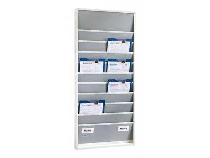 Plánovací tabule 15 přihrádek, úzké provedeníRozměry (ŠxVxH): 550x1 765x78 mm