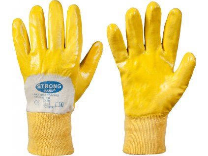 Pletené nitrilové rukavice Toronto