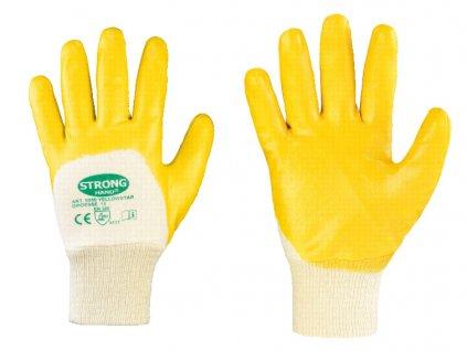 Pletené nitrilové rukavice Yellowstar