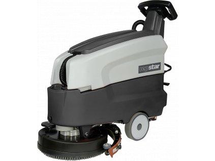 Podlahový mycí stroj, bateriový provoz