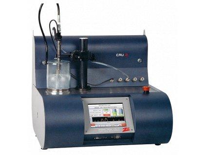 Tester CRU.2 včetně proplachu, max. testovací tlak 1 800 bar