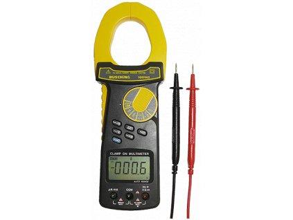 Digitální klešťový ampérmetr 2 000 A