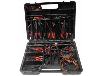 Kufr s univerzální sadou propojovacích kabelů a konektorů