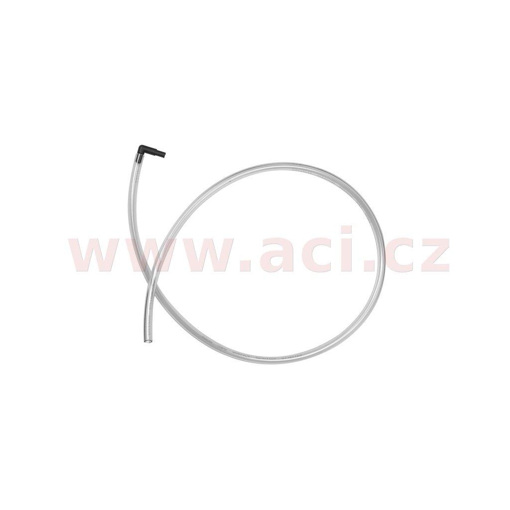 odvětrávací hadička 90 cm s úhlovým adaptérem