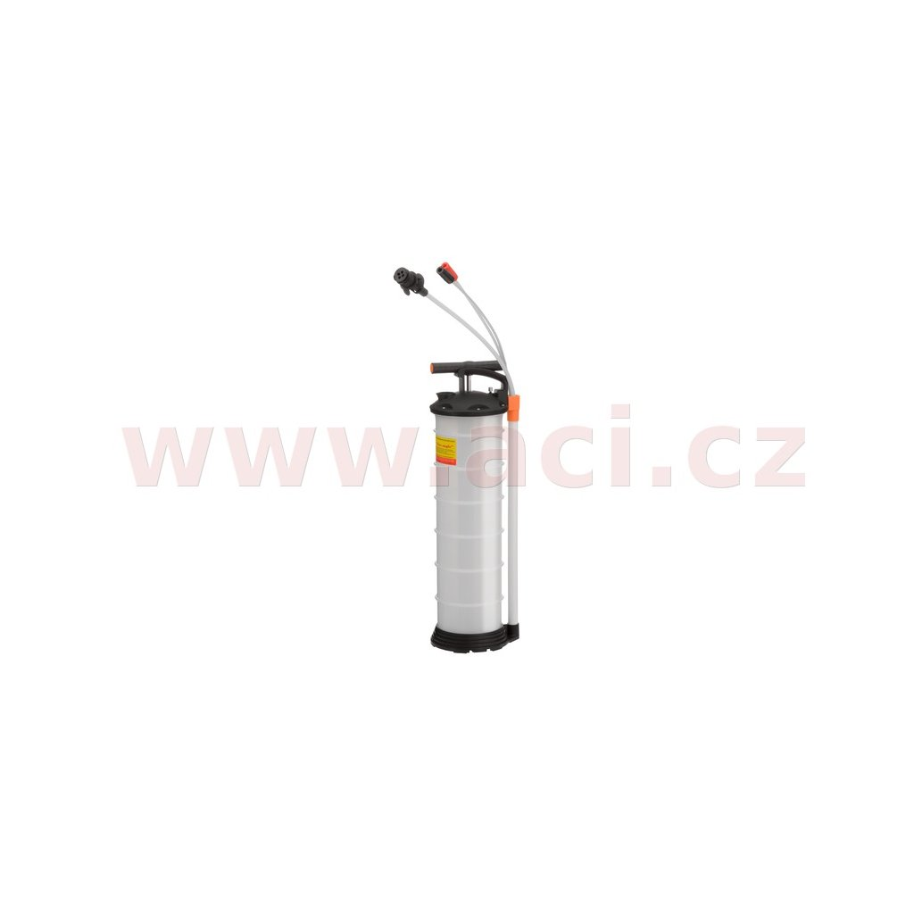 odsávačka oleje a dalších provozních kapalin, kapacita 6,5 l