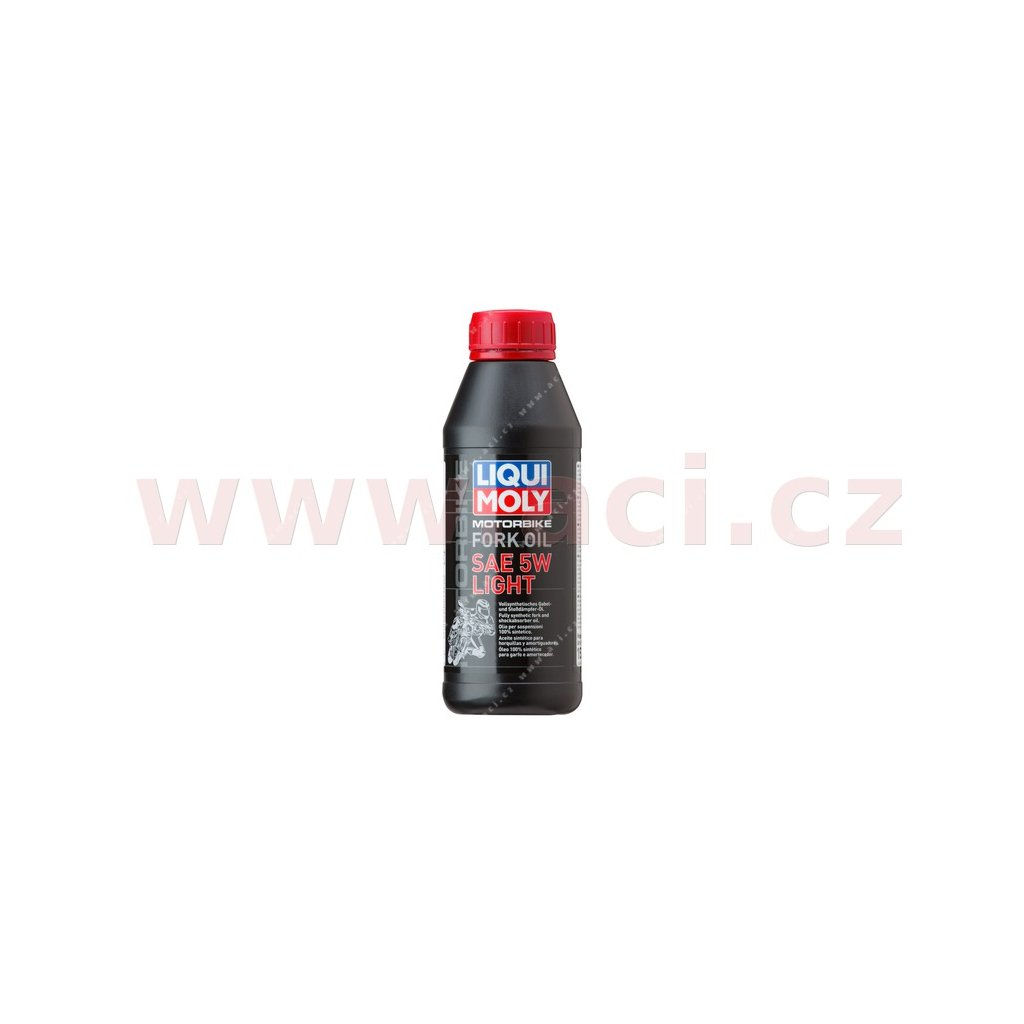 LIQUI MOLY Motorbike Fork Oil 5w Light - olej do tlumičů pro motocykly - lehký 500 ml