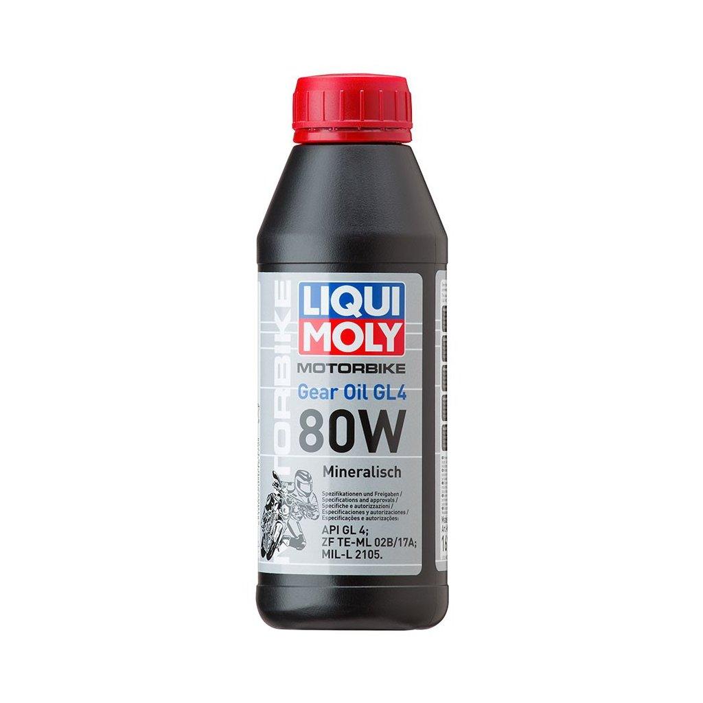 LIQUI MOLY Motorbike Gear Oil 80w - minerální převodový olej 500 ml