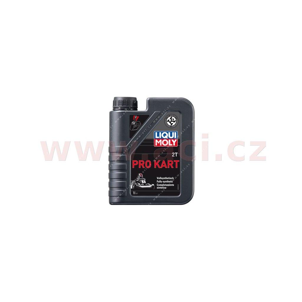 LIQUI MOLY Pro Kart, plně syntetický 2T motorový olej pro motokáry 1 l