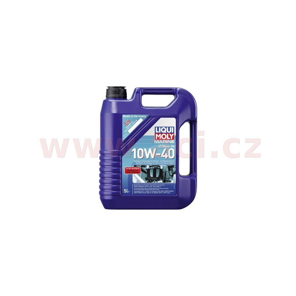 LIQUI MOLY Marine 4T 10w-40 - syntetický motorový olej 5 l