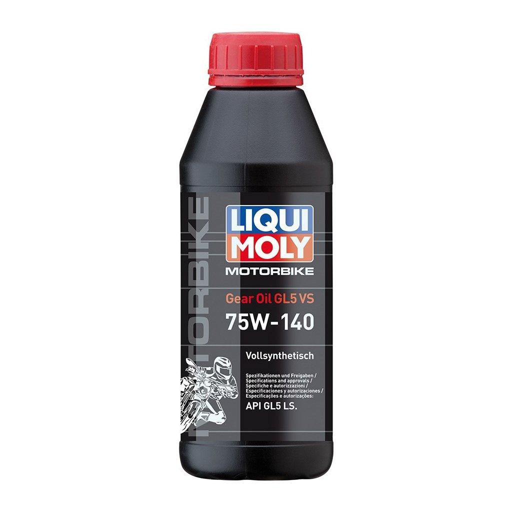 LIQUI MOLY Motorbike Gear Oil 75w140 GL5 VS - plně syntetický převodový olej 500 ml
