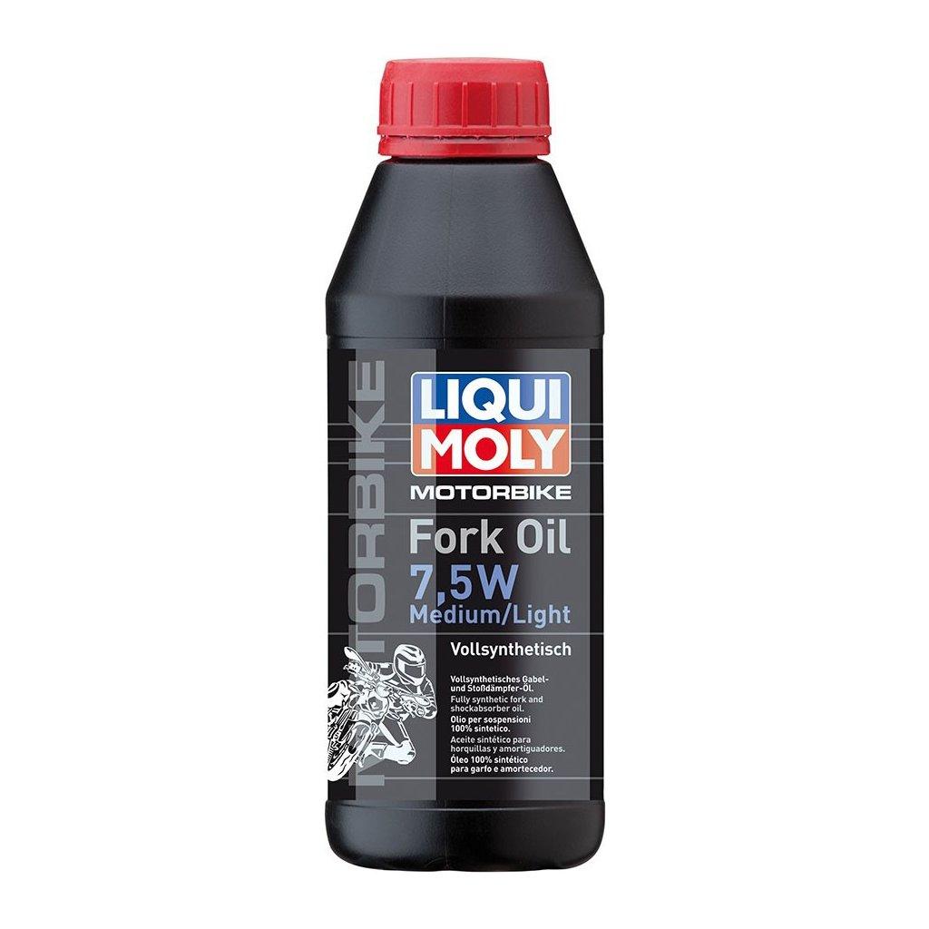 LIQUI MOLY Motorbike Fork Oil 7,5w medium/light - olej do tlumičů pro motocykly - střední/ lehký 500 ml