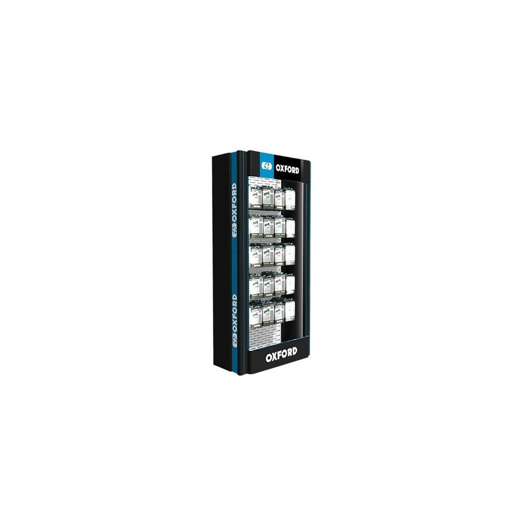 prezentační stěna Premium Advanced s rastrem pro drátový program, 1ks, OXFORD (ŠxVxHL = 1040x2290x550 mm)