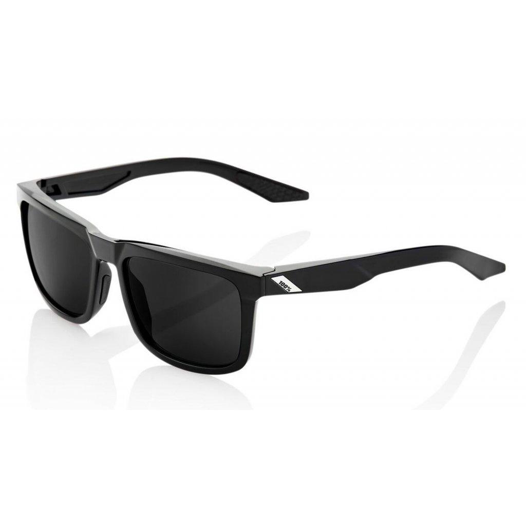 sluneční brýle BLAKE černé, 100% - USA (šedá polarizační sklo)