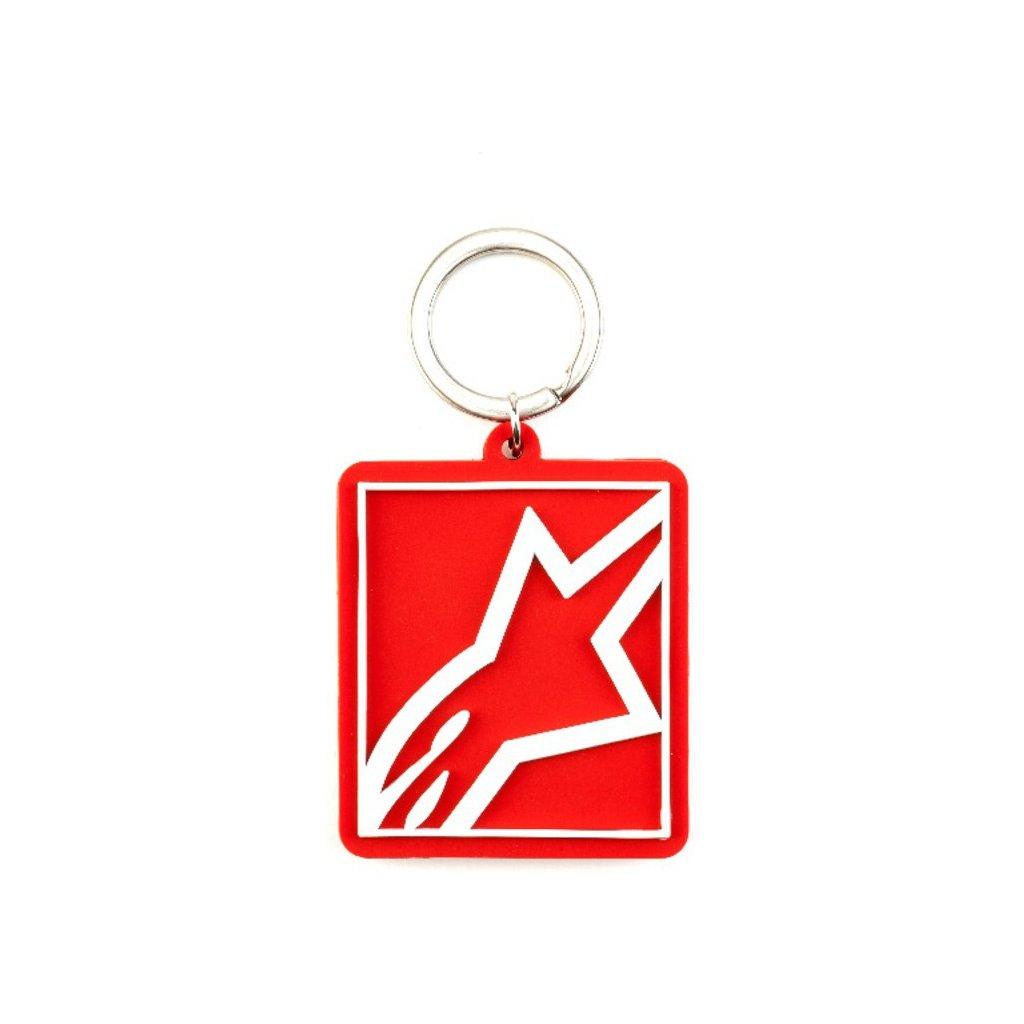 klíčenka CORP SHIFT KEY FOB, ALPINESTARS (červená)