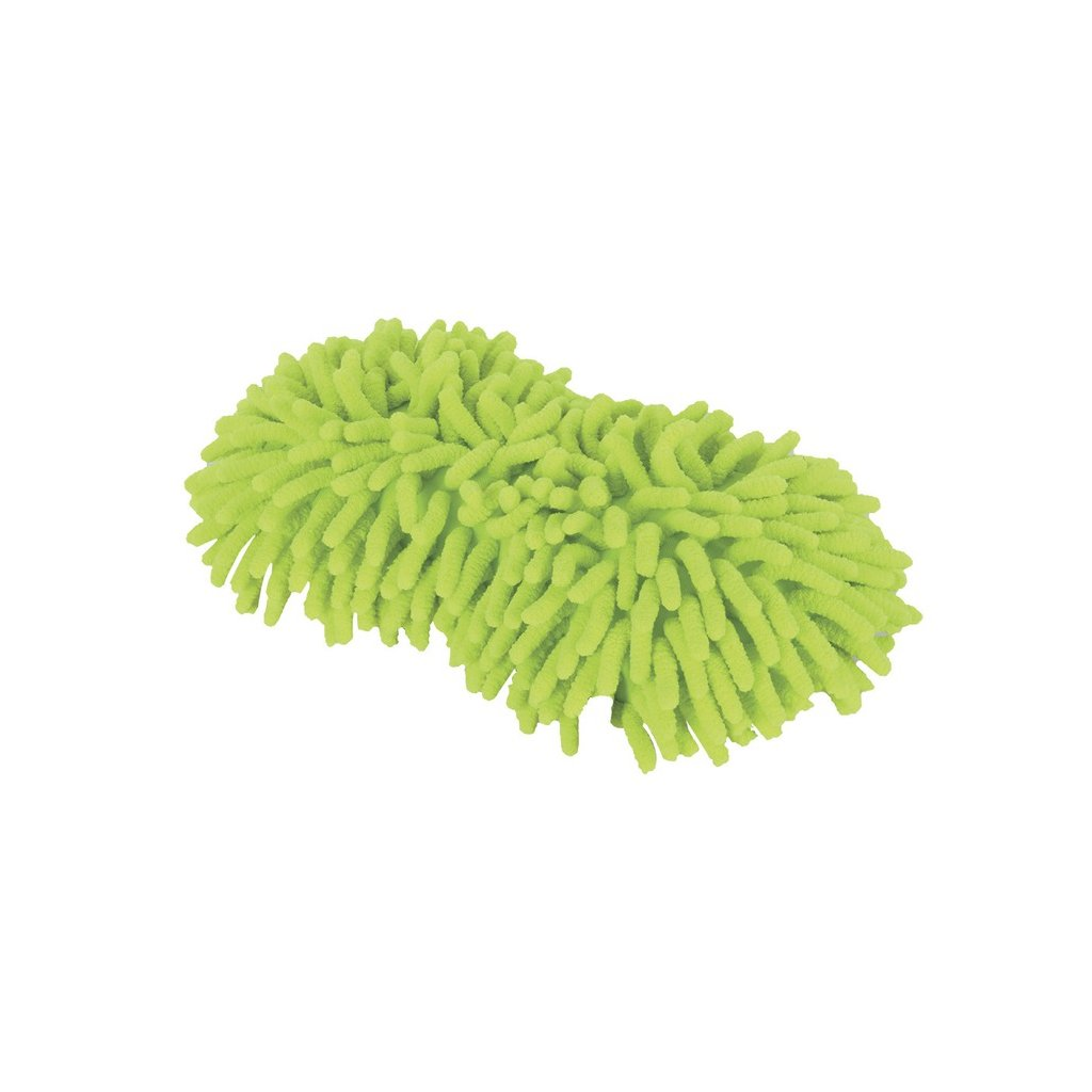 mycí houba Noodle Sponge, OXFORD (mikrovlákno, žlutá fluo)