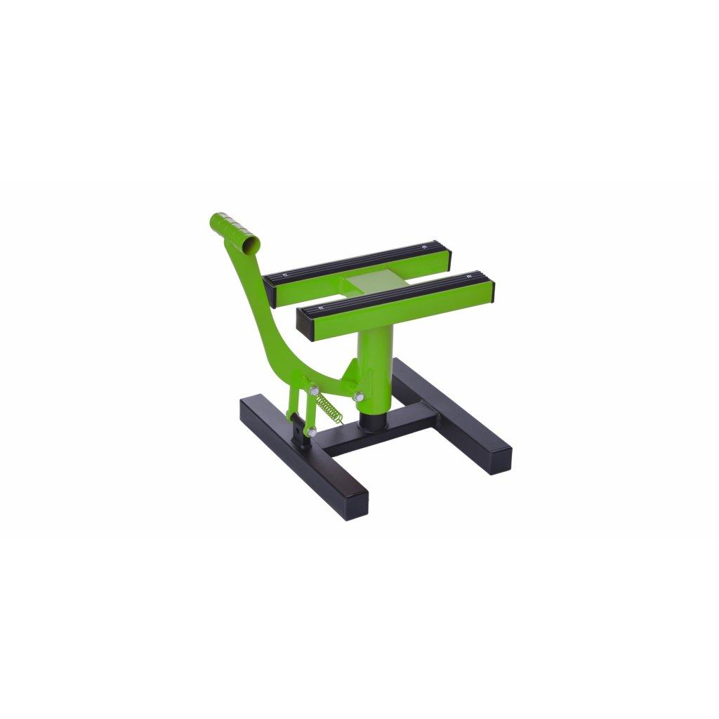 stojan MX, Q-TECH (černá matná/zelená)