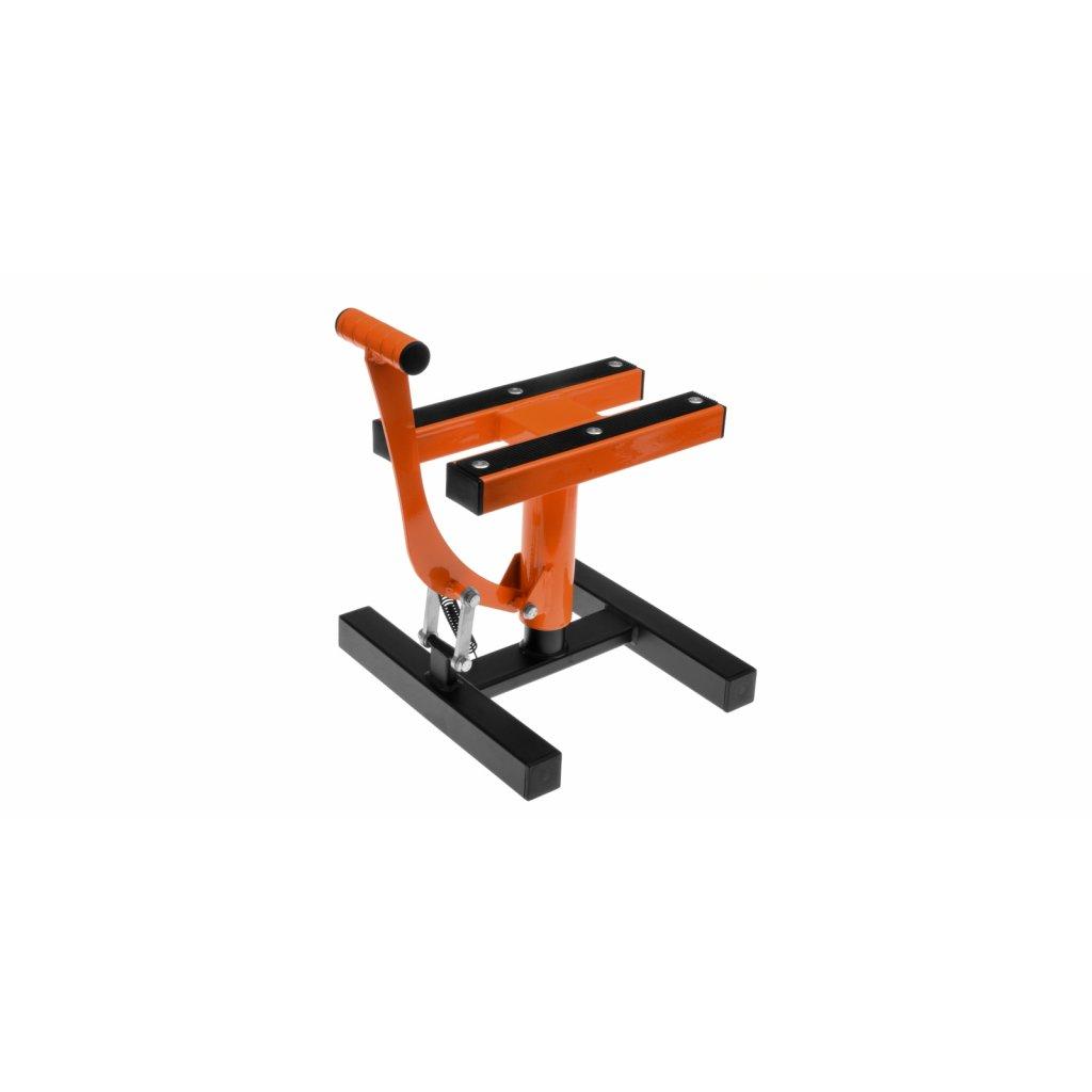 stojan MX, Q-TECH (černá matná/svítivě oranžová KTM )