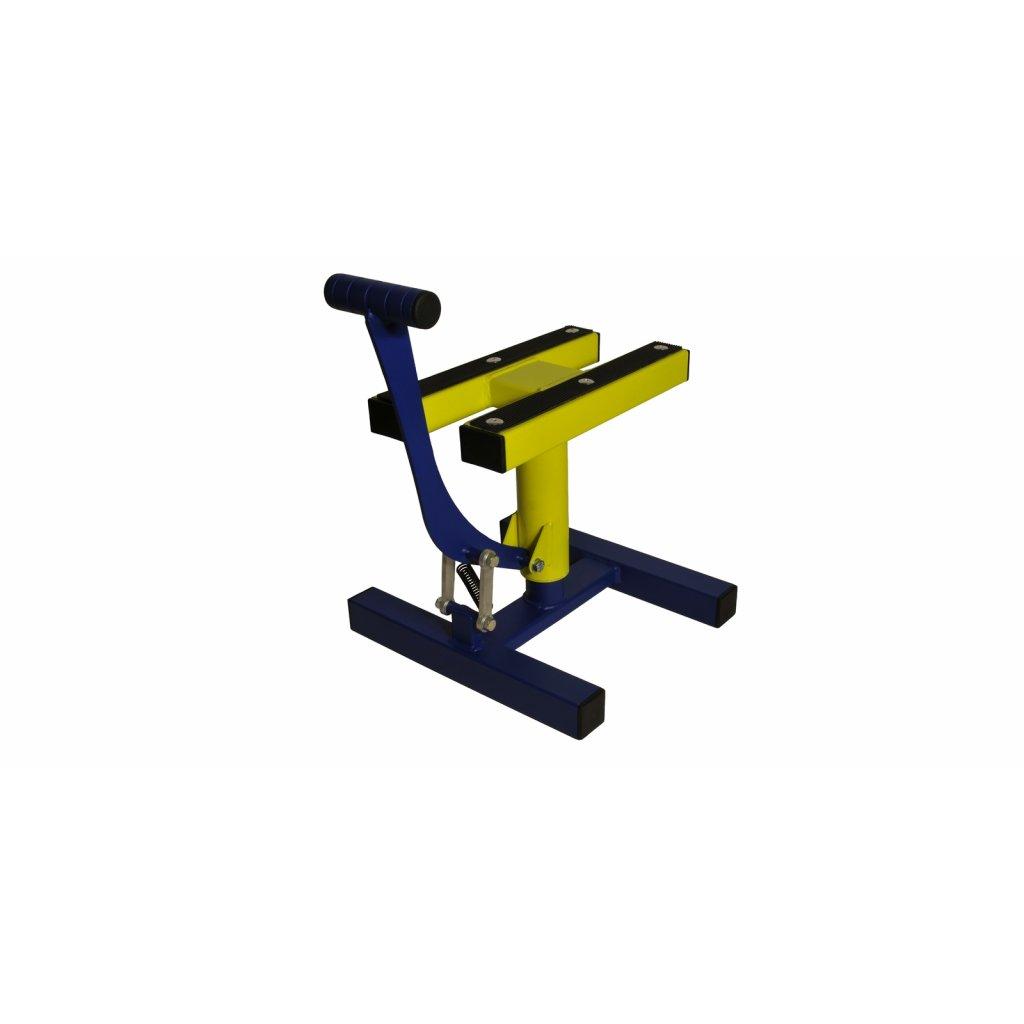 stojan MX, Q-TECH (modrá matná/žlutá)