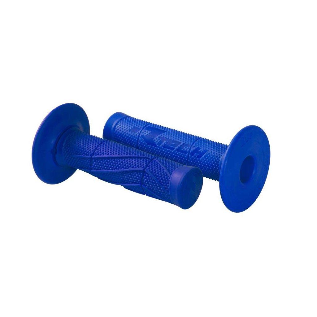 gripy Wave (měkké), RTECH (modré, pár, délka 118 mm)