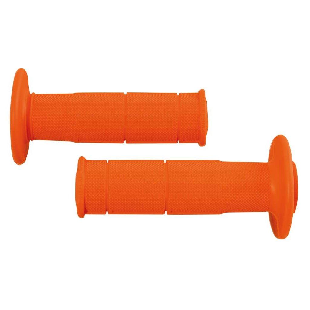 gripy Racing (měkké), RTECH (oranžové, pár, délka 116 mm)