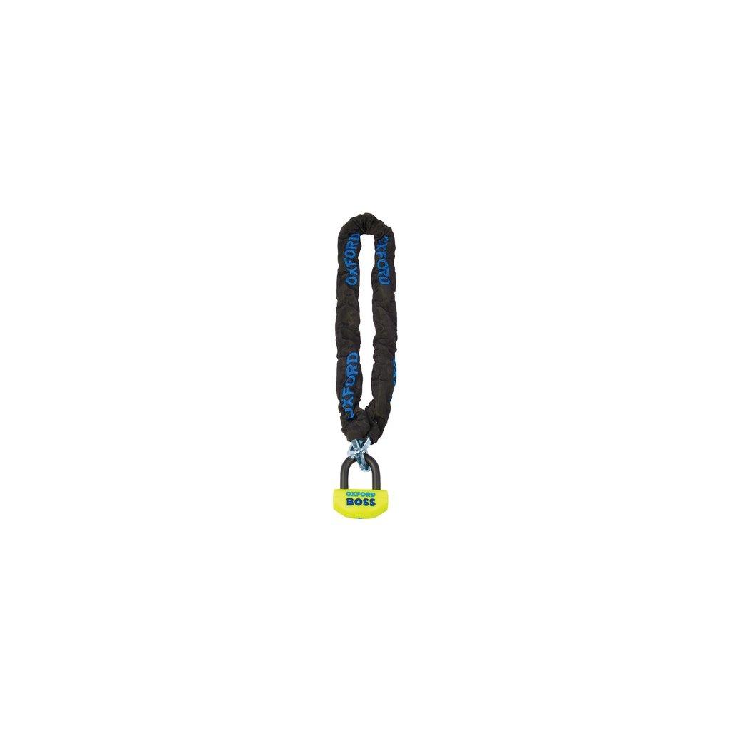 řetězový zámek na motocykl Boss, OXFORD (délka 1,5 m)