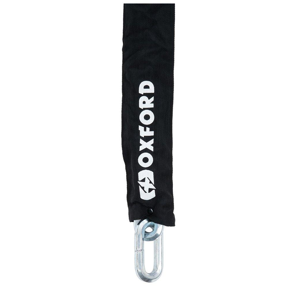 samostatný řetěz, standard používaný u zámků Monster, OXFORD (průřez oka řetězu 14 mm, délka 2 m)