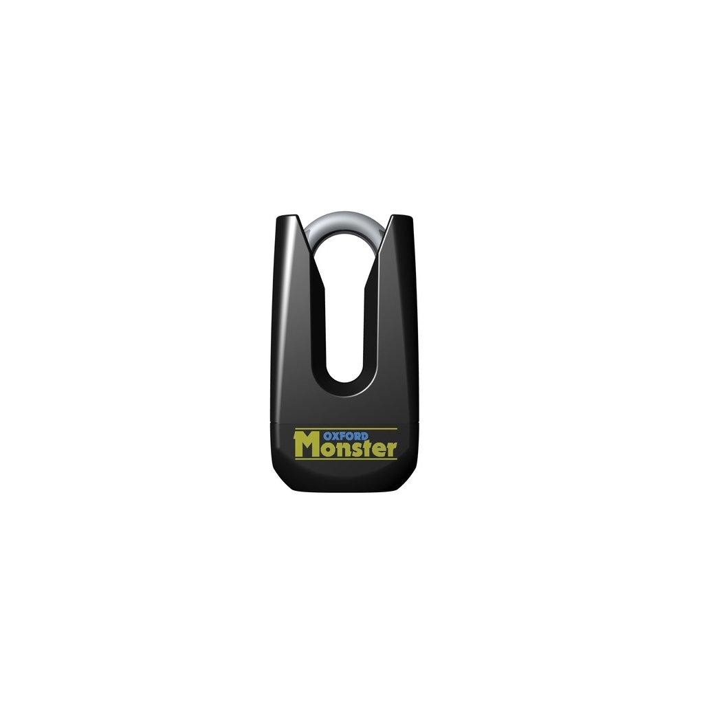 zámek kotoučové brzdy Monster, OXFORD (průměr čepu 11 mm, černý)