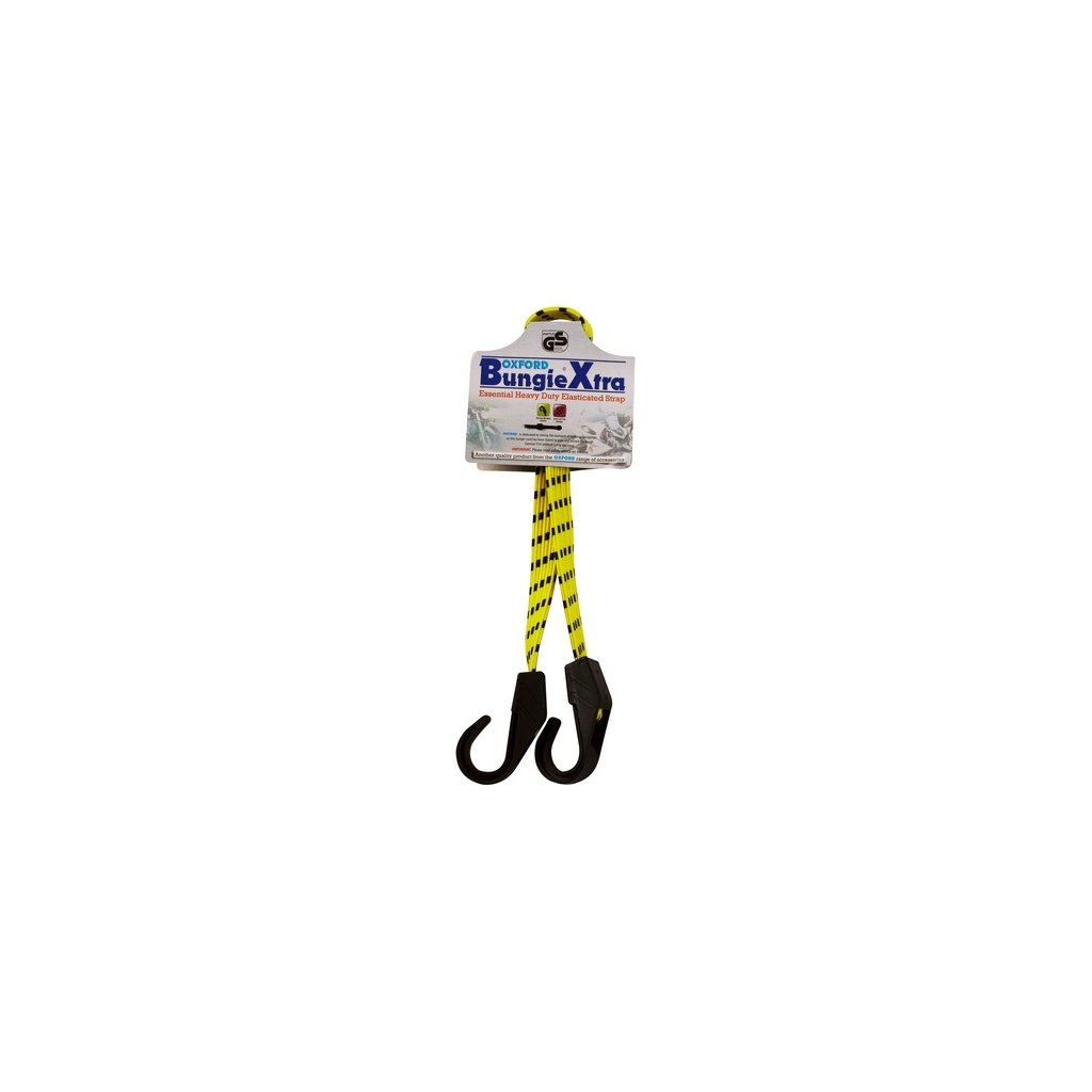 gumicuk Xtra délka/šířka popruhu 800/16 mm, OXFORD - Anglie (hák/hák)