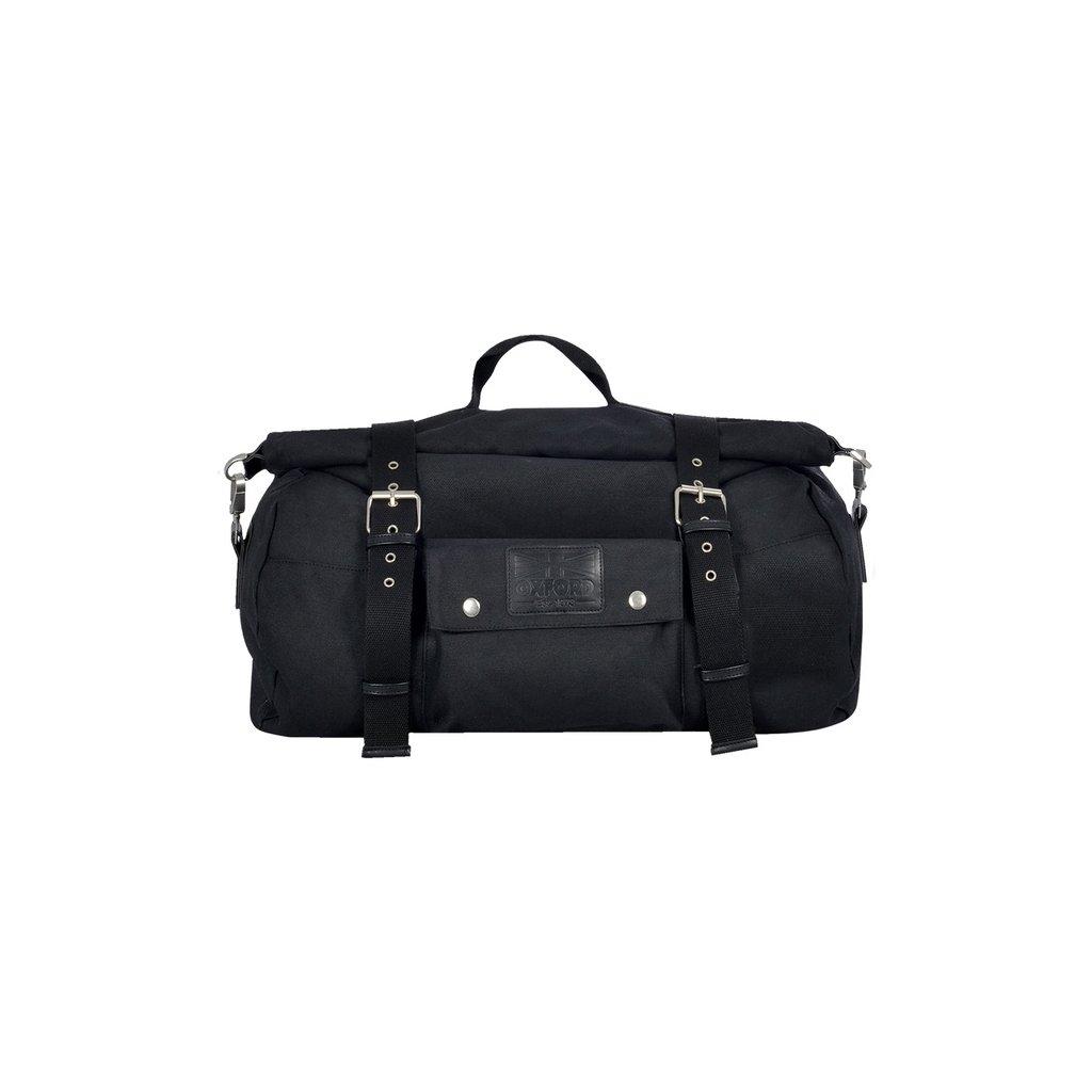 brašna Roll bag Heritage, OXFORD - Anglie (černá, objem 30 l)