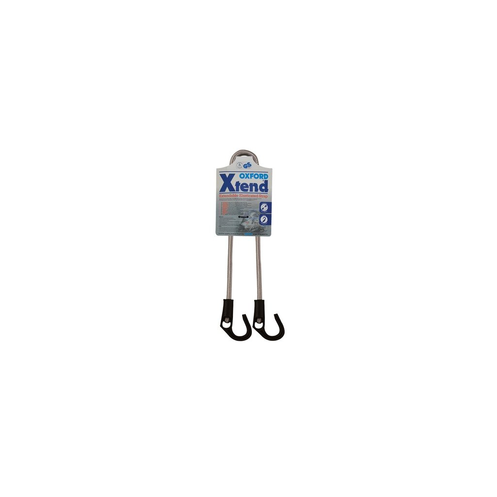 gumicuk Xtend nastavitelný délka do/průměr popruhu 800/9 mm, OXFORD - Anglie (hák/hák)