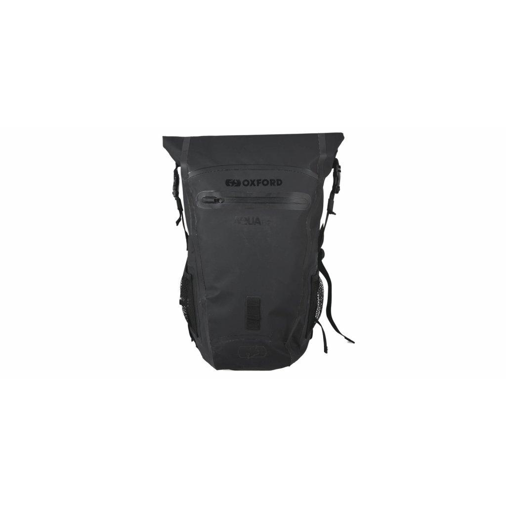 vodotěsný batoh Aqua B-25, OXFORD (černý, objem 25 l)
