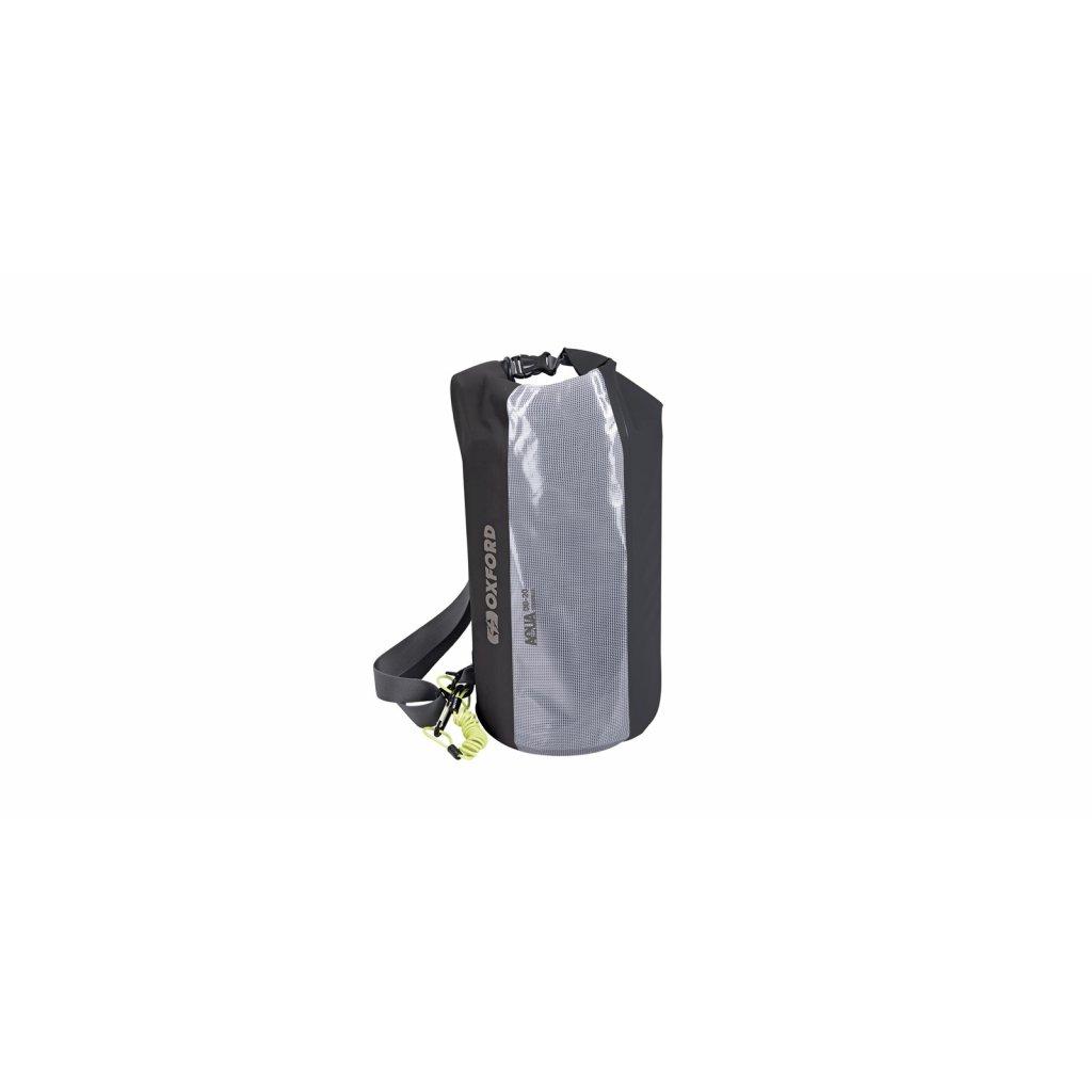 vak Aqua DB-20 Dry Bag, OXFORD (černý/transparentní, objem 20l)