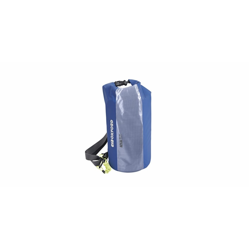 vak Aqua DB-20 Dry Bag, OXFORD (modrý/transparentní, objem 20l)