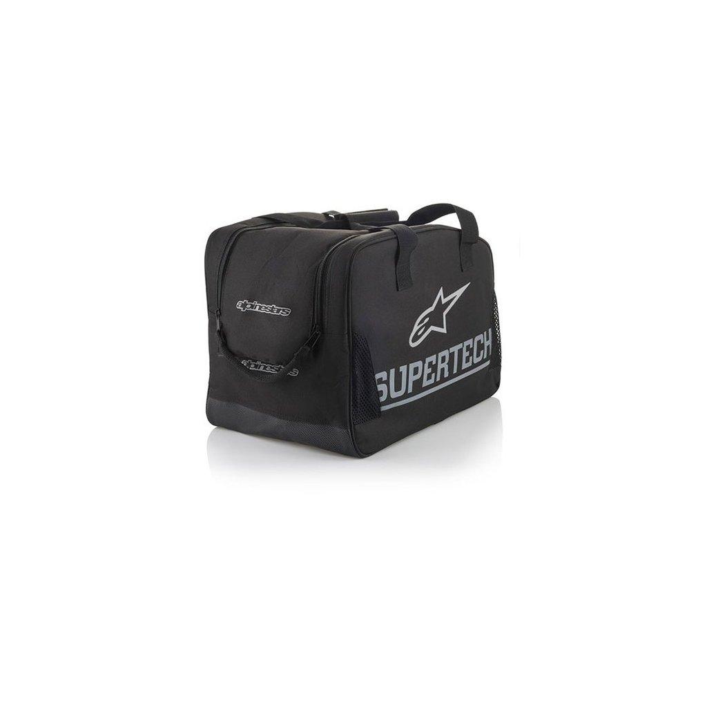 taška na přilbu polstrovaná, ALPINESTARS (černá/šedá/bílá)