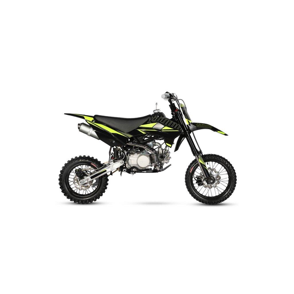 pitbike stomp Z3 140R modra